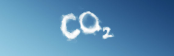 clouds spell CO2