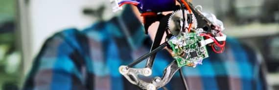Salto the jumping robot