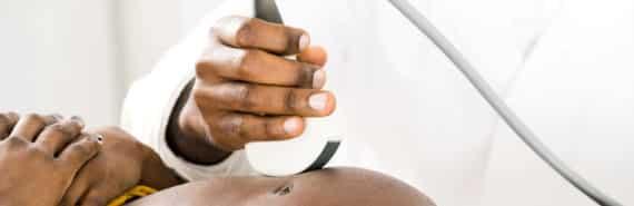 pregnant woman's ultrasound