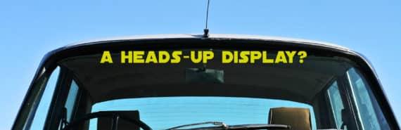 classic car windshield