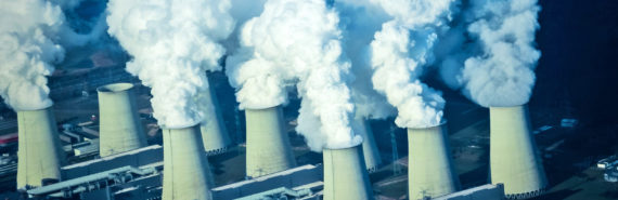 power plant chimneys