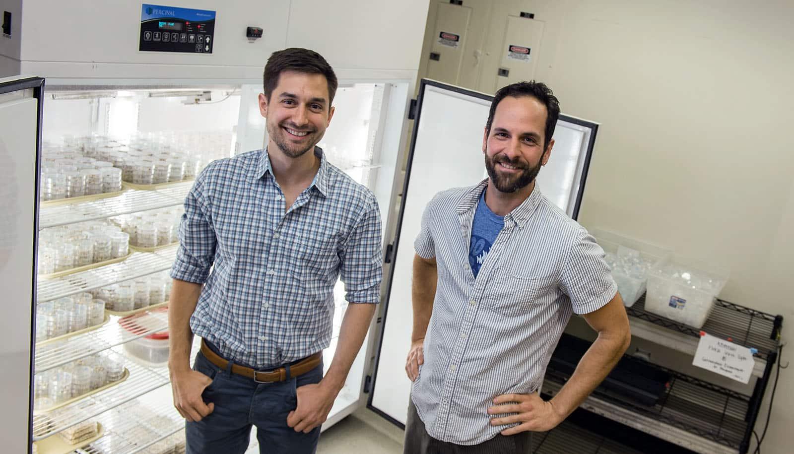 Brad Ochocki, left, and Tom Miller