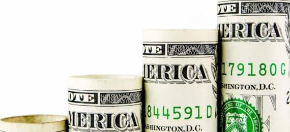 dollar bill steps