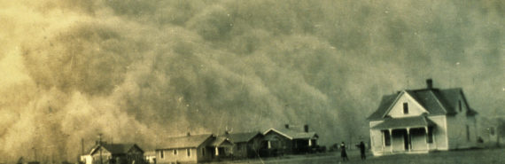 dust bowl dust storm texas