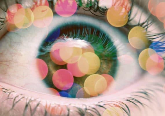 eyeball bokeh