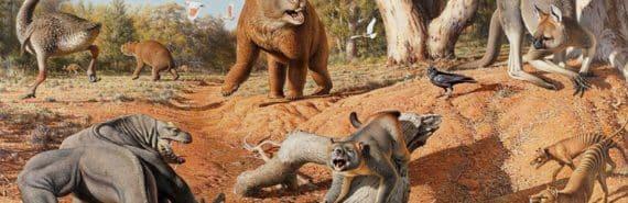 ancient megafauna of australia