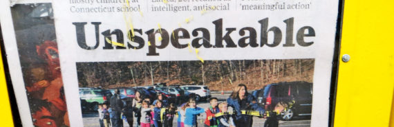 sandy hook newspaper headline