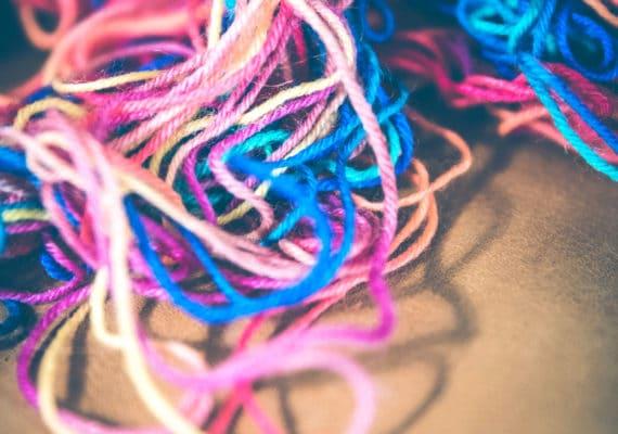 tangled yarn