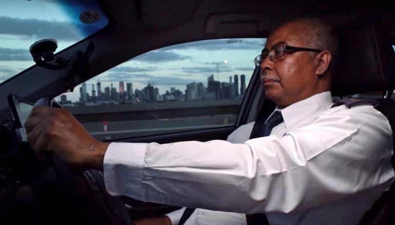 Khalil cab driver