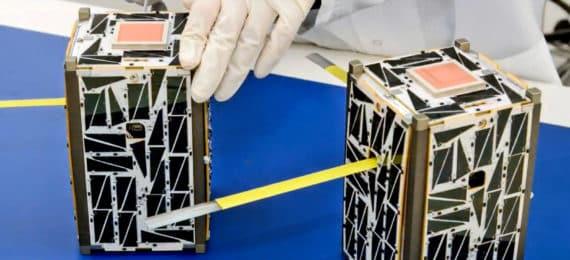 satellites in lab