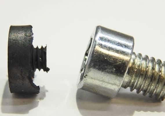 rebar graphene in a screw shape