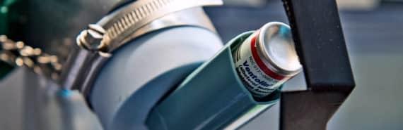 asthma inhaler test