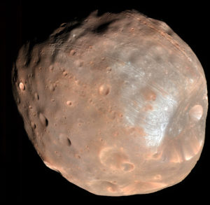 moon Phobos could create Mars rings