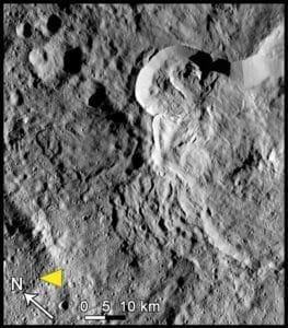 Ceres landslide type III