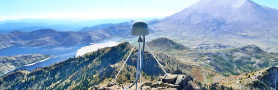 GPS station near Mount St Helens