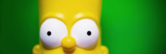 bart simpson's face