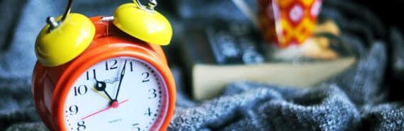 alarm clock symbolizes astroglia