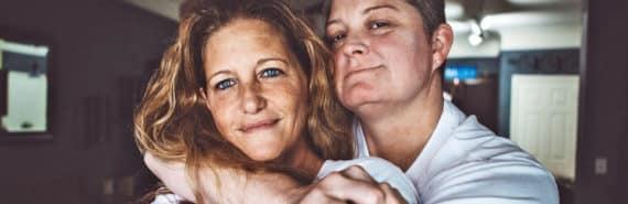 lesbian couple, LGBT older adults