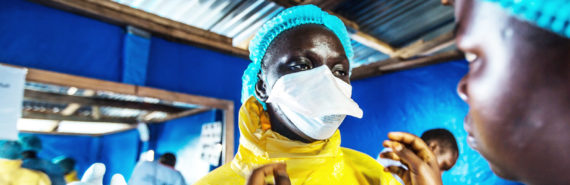 nurses prepare for Ebola ward