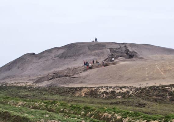 Huaca Prieta mound