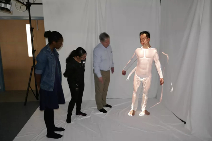 augmented reality anatomy projection