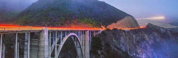 bixby bridge in california