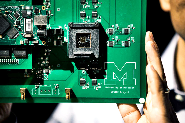 memristor microchip