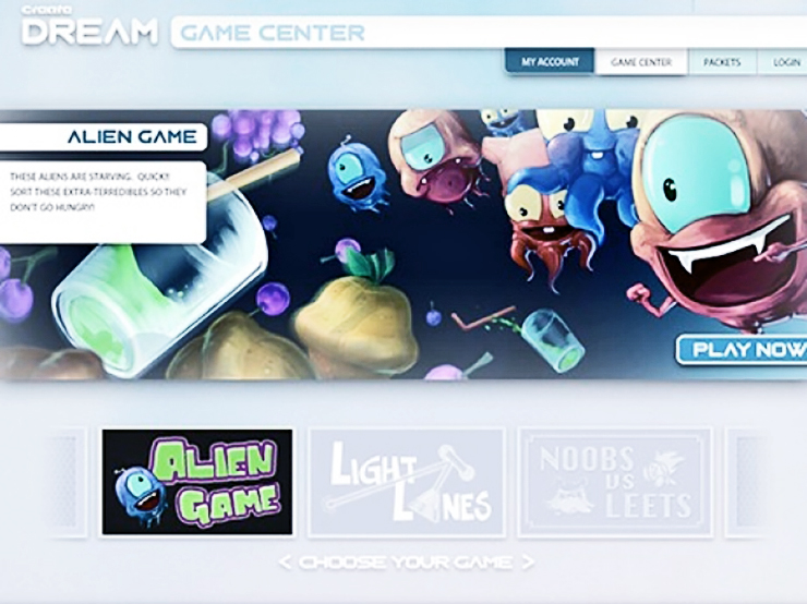 Alien Game, an educational game made to help kids with mental health issues.