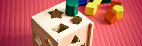 shape sorting block toy