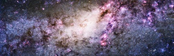 Hubble telescope image of a galaxy