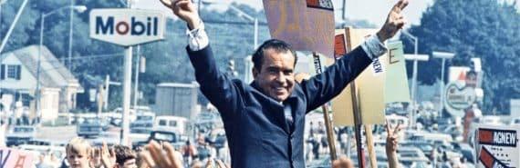 Nixon on the campaign trail