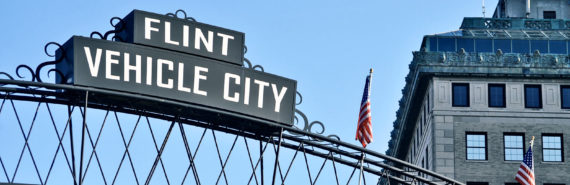 Flint city sign