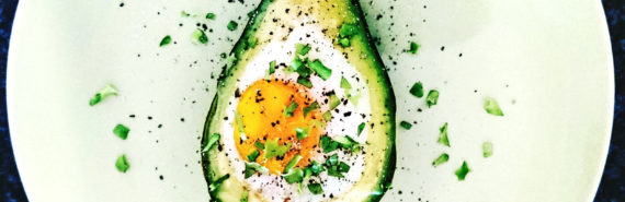 egg baked in avocado - ketogenic diet