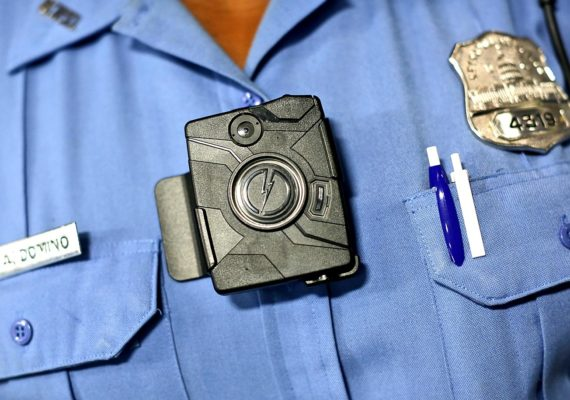 body-worn cameras on police officer