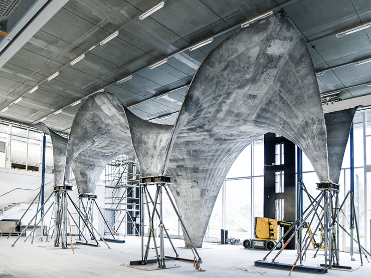 concrete roof prototype