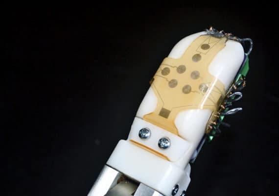 robot 'skin' close-up
