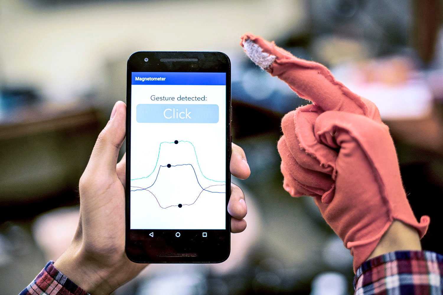 smart fabric gesture recognition