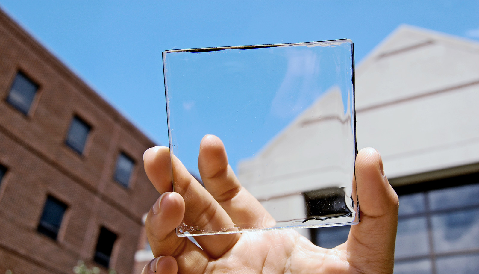 To Generate More Solar Power Put This Material On Glass