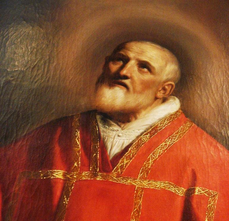 Saint Philip Neri portrait