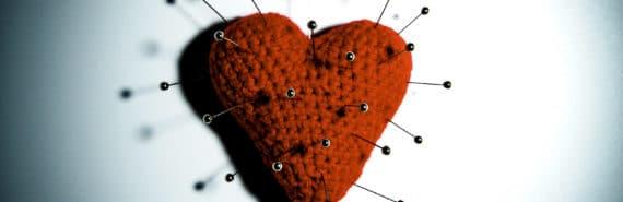 heart pin cushion