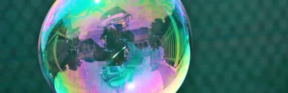 bubble reflection (solar system origins concept)