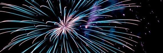 firework exploding (meteoroids concept)