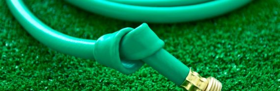 knotted hose (blood clot concept)