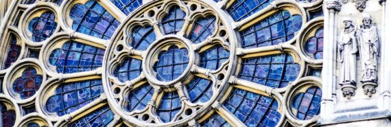 Westminster Abbey window (stained glass concept)