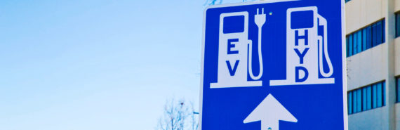 fueling station sign (fuel cells concept)