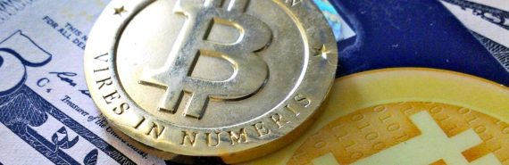 physical bitcoin (blockchain concept)