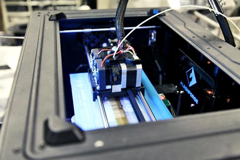 3D printing syntactic foam
