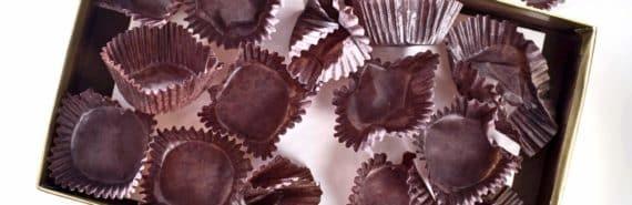 empty box of chocolates
