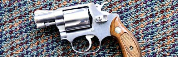 gun on carpet
