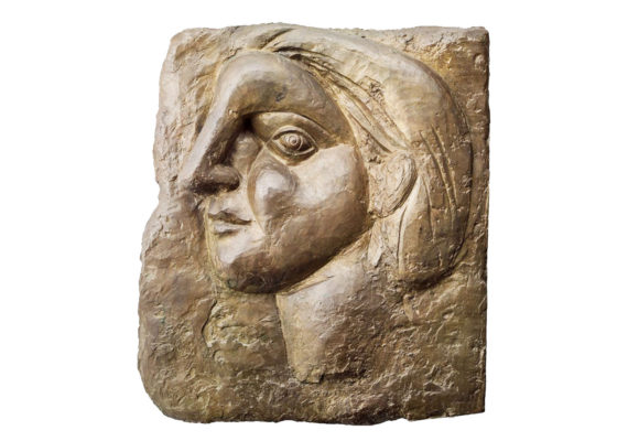 one of Picasso's bronzes